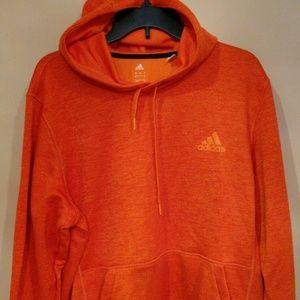 NWOT Men's Adidas Orange Climawarm Hoodie Size L